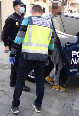 Arxiu - Agents de la Policia Nacional.
