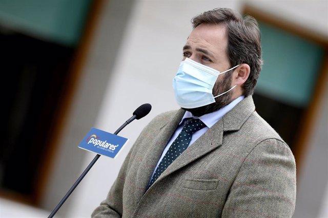 El prersidnete regional del PP, Paco Núñez.