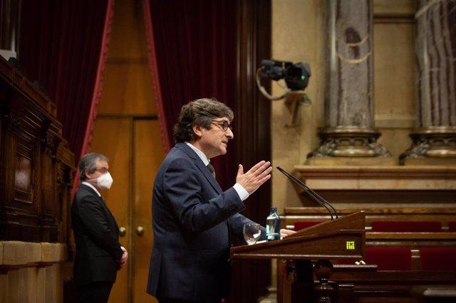 Archivo - Arxiu - El diputat del PSC David Pérez.