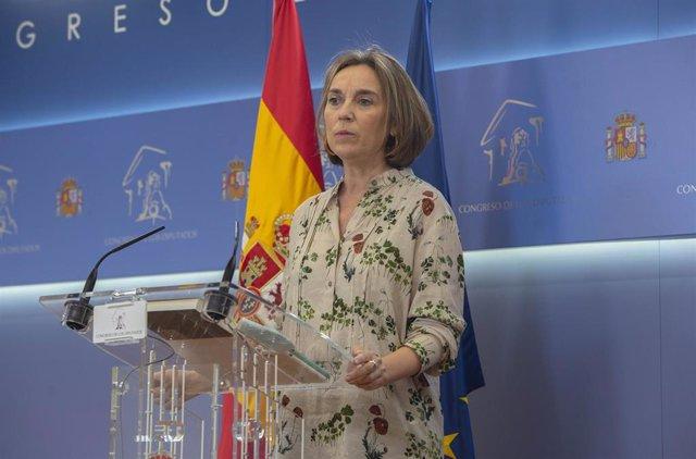 La portavoz del PP en el Congreso de los Diputados, Cuca Gamarra, en una imagen de archivo