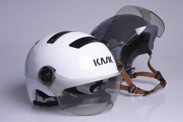 Kask refleja el estilo italiano en los cascos urbanos Urban R y Moebius para bicicleta.