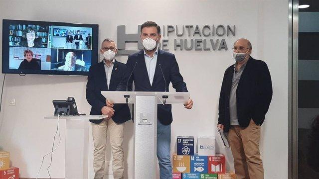 Fallo del premio en la Diputación de Huelva.