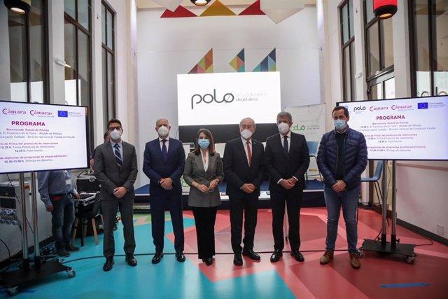 Presentación de la firma de un protocolo de intenciones en el marco del ámbito tecnológico y de la innovación para el emprendimiento y el desarrollo empresarial