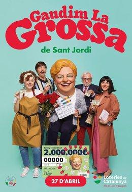La Grossa de Sant Jordi premia amb dos milions el número 71.606 de la sèrie 33.