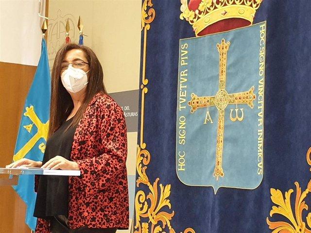 Archivo - La directora general de Igualdad del Principado, Nuria Varela