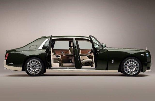 Rolls-Royce crea en colaboración con Hermès el Phantom Oribe.