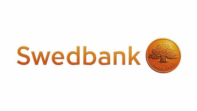 Archivo - Logo del banco sueco Swedbank.
