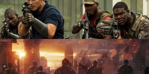 1. Chris Pratt, listo para matar aliens en las primeras imágenes de 'The Tomorrow War' antes del inminente tráiler