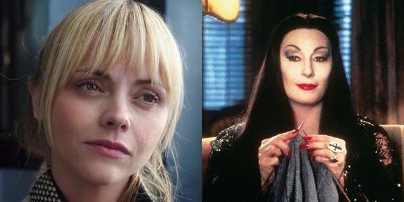 2. Tim Burton quiere a Christina Ricci como Morticia en La familia Addams de Netflix
