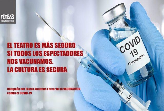 Campaña de Feteas en favor de la vacunación contra la COVID-19