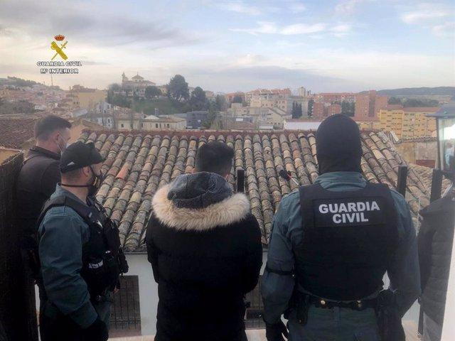 La Guardia Civil de Cuenca desarticula un grupo criminal dedicado al tráfico de drogas