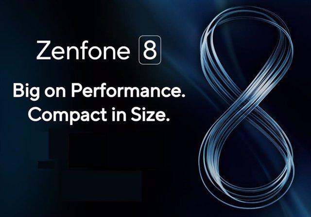 ZenFone 8, cartel de presentación.