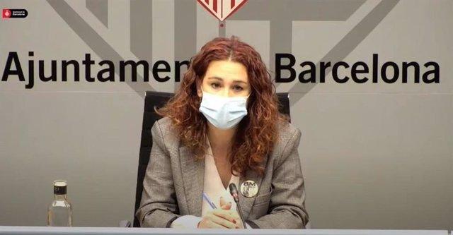 Arxiu - La tinent d'alcalde de Drets Socials de Barcelona, Laura Pérez.