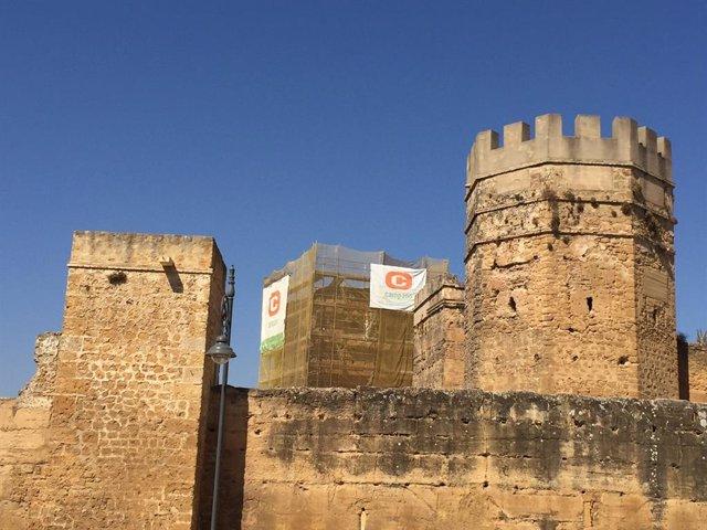 Archivo - Np Alcalá: Ayto Inicia Las Obras De Restauración De La Torre Entrepatios Del Castillo Medieval