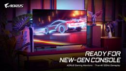 GIGABYTE AORUS 4K Gaming Monitors Are New-Gen Console Ready
