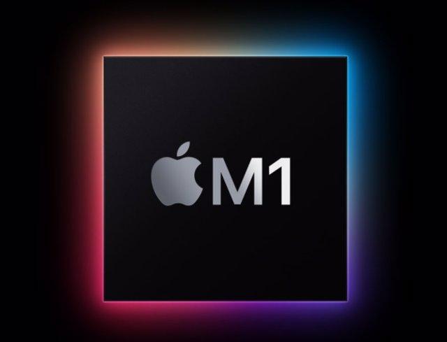 Archivo - Procesador Apple M1 para Mac