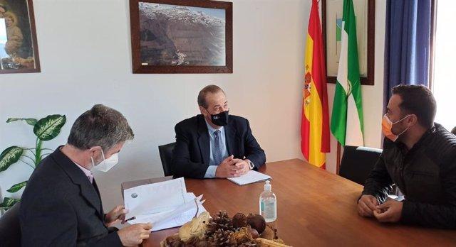 Reunión de la Junta con el Ayuntamiento de Trevélez