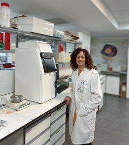 La doctora Arancha Cebrián Aranda, investigadora de la División de Oncología Traslacional del IIS-FJD y una de las autoras del estudio.