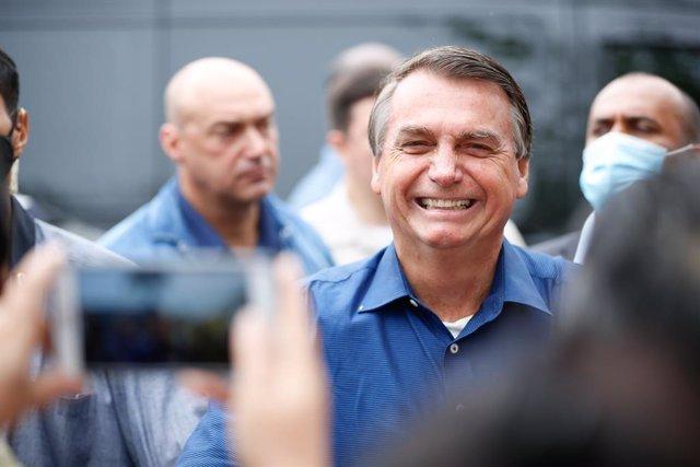 Archivo - Jair Bolsonaro, presidente de Brasil.