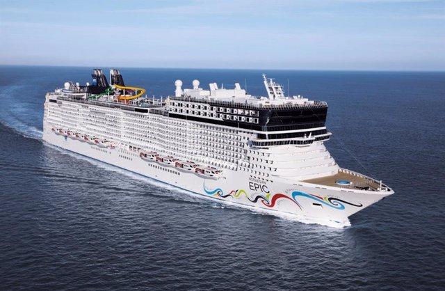 Archivo - Norwegian Cruise Line.