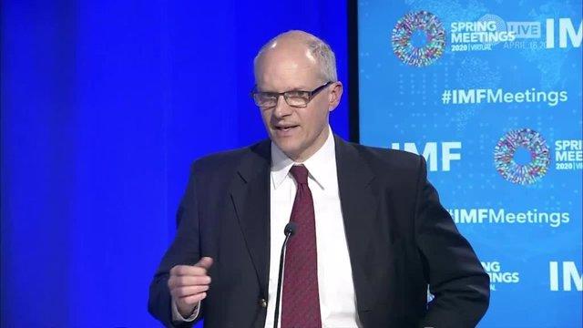 Archivo - Alejandro Werner, director del Hemisferio Occidental del FMI