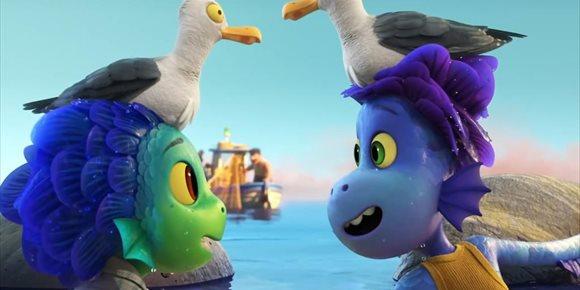 1. Nuevo tráiler de Luca, las criaturas marinas de Pixar conocen la Riviera italiana