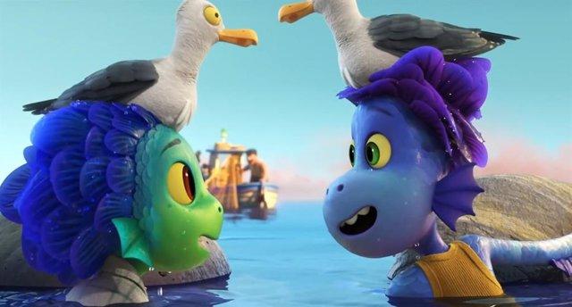Nuevo tráiler de Luca, las criaturas marinas de Pixar conocen la Riviera italiana
