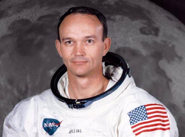 Michael Collins cuando tripuló la Apolo 11 en 1969