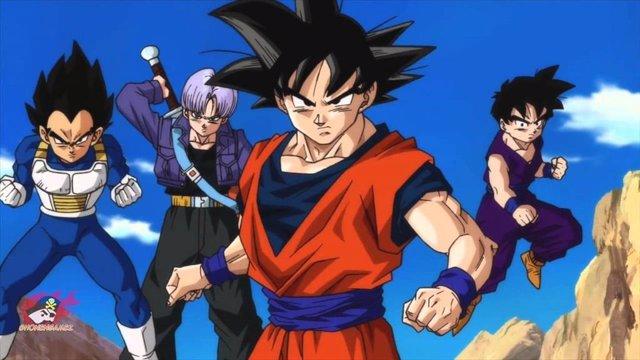 Archivo - Goku, Gohan, Vegeta, Piccolo y compañía preparan un regreso por todo lo alto. Dragon Ball Super, la nueva serie de animación que devolverá la saga a televisión 18 años después, también tendrá su versión en manga.