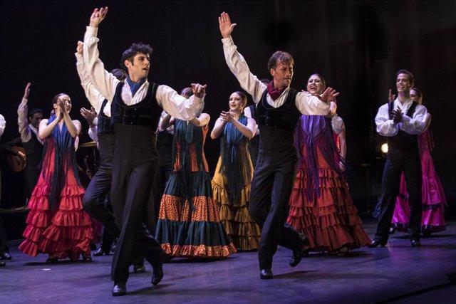 Archivo - Ensayo del Ballet Nacional.