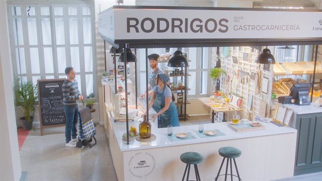 Fotograma de la miniserie 'Historias de Mercado'