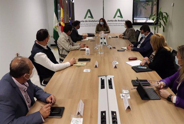 La consejera de Agricultura se reúne con el nuevo secretario general de UPA-Andalucía