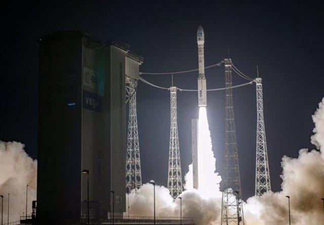 Despegue del cohete Vega
