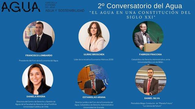 Archivo - Participantes del 2º Conversatorio del Agua