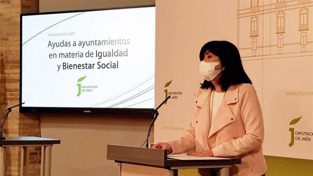 La diputada de Igualdad, Francisca Medina