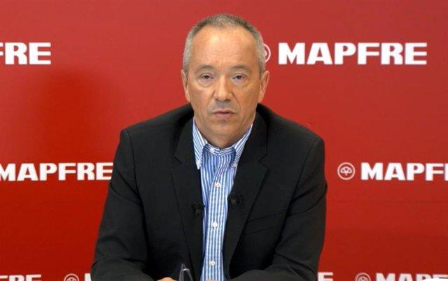Archivo - El director general financiero de Mapfre, Fernando Mata.