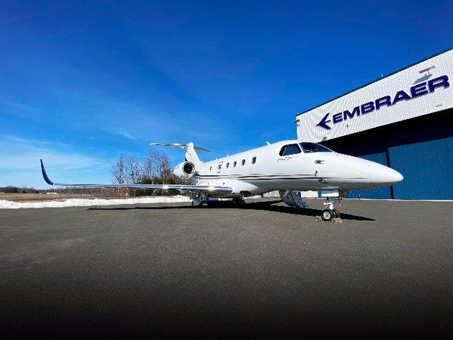 Archivo - Embraer Praetor 500.