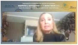 La directora del Departamento Internacional de , Iciar Sanz de Madrid,