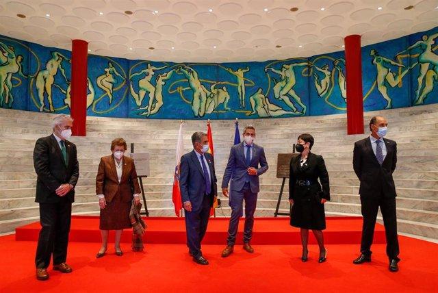 Acto por el 30 aniversario del Palacio de Festivales