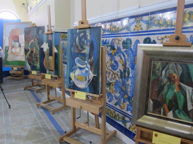 Archivo - Imagen de archivo de obras incautadas por el grupo de Patrimonio Histórico de la Policía de la Generalitat Valenciana