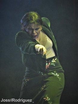 La bailaora María Moreno