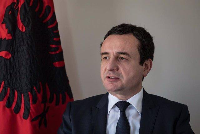 Archivo - El líder de Vetevendosje (Autodeterminación), Albin Kurti.