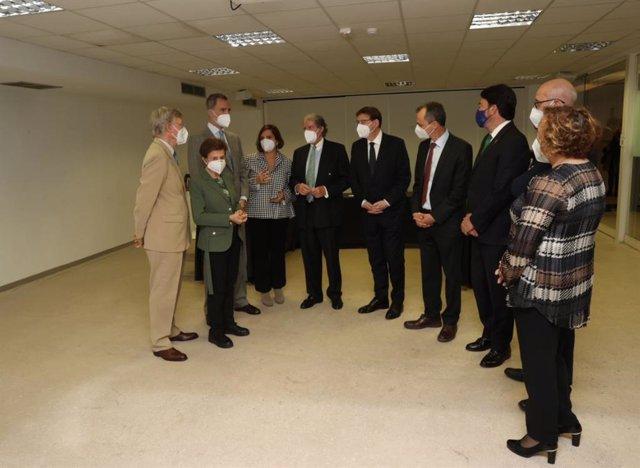 Acto de entrega del premio de Investigación Científica de la Fundación Princesa de Girona