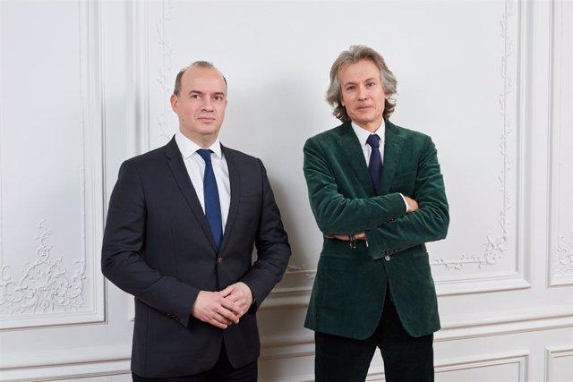 El presidente de Lonvia Capital, Cyrille Carriére, y François Badelon