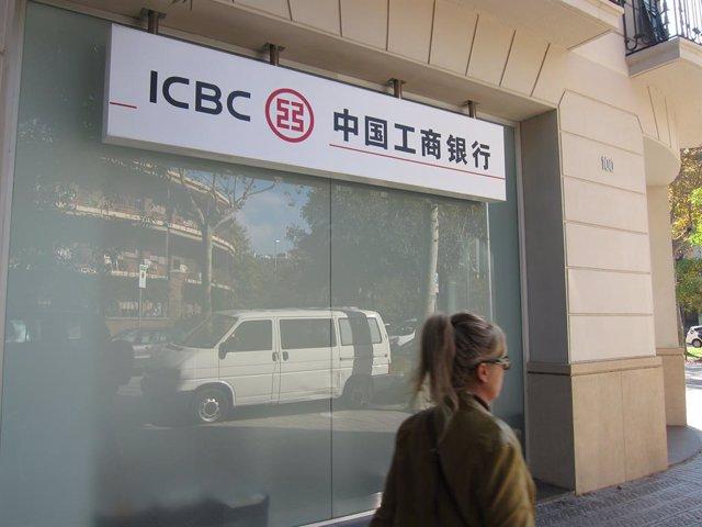 Archivo - Banco ICBC en Barcelona