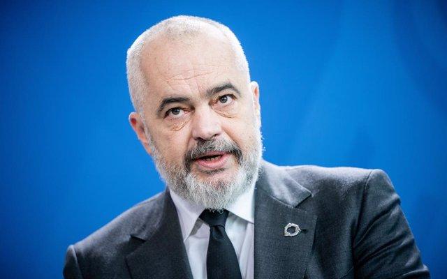 Archivo - El primer ministro de Albania, Edi Rama
