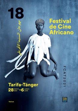 Cartel de la 18 edición del Festival de Cine Africano