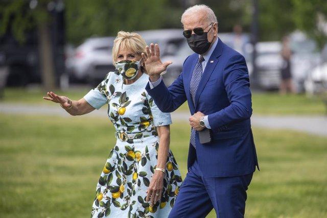 El presidente de Estados Unidos, Joe Biden, viaja a Georgia para un evento que conmemora su centésimo día en el cargo.