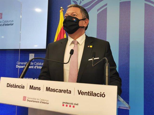 El conseller d'Interior, Miquel Sàmper