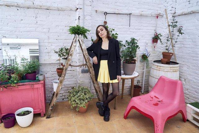 La cantante Zahara posa después de una entrevista para Europa Press